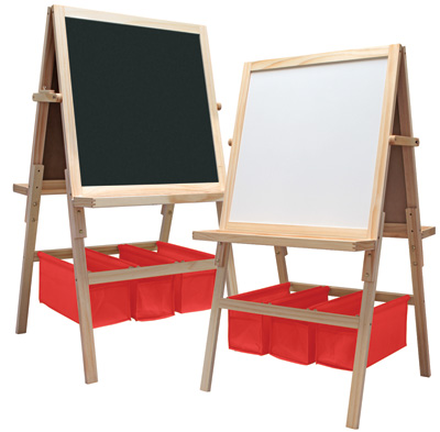 Children's art easel