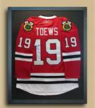 Chicago sports jersey framer